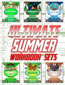 Summer Ultimate Work Sheet Sets Bundle (180 pages)