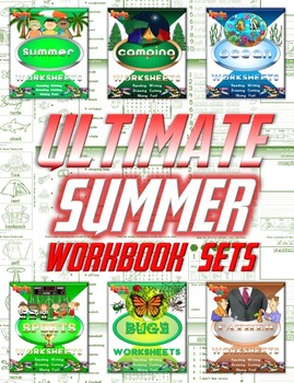 Summer Ultimate Work Sheet Sets Bundle (180 pages)