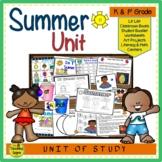 Summer Unit: Activities & Center