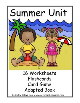 Summer Unit for Kids with Autism