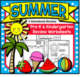 Summer Unit for Pre-K and Kindergarten