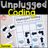 Summer Unplugged Coding Activity for Beginners (English an