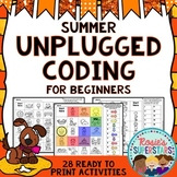 Summer Unplugged Coding for Beginners
