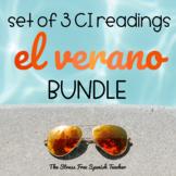 Summer VERANO CI Reading and Activities BUNDLE