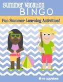 Summer Vacation BINGO