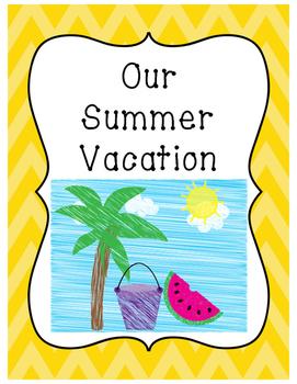Summer Vacation Class Book