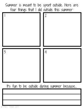 Summer Vacation - Digital Resource