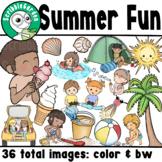 Summer Vacation Fun ClipArt