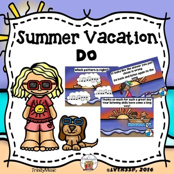 Summer Vacation Interactive Game (Do)