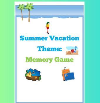 Summer Vacation Memory Theme