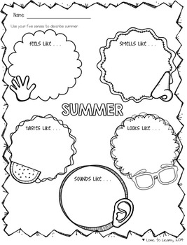 Summer Vacation Mini Pack
