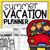 Summer Vacation Planner {An End of Year Project Based Lear