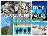 Summer Vacation Plans - Fun Research Unit and Persuasive Presentation