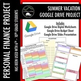 Summer Vacation Project Google Drive Edition!