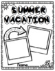 Summer Vacation Project for First and Second Graders