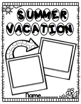 Summer Review Project for First and Second Graders