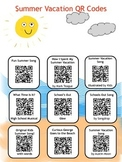 Summer Vacation QR Codes