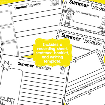 Summer Vacation Scrambled Sentences