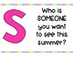 Summer Vacation Task Cards