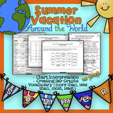 Summer Vacations Around the World - No Prep Math Activities