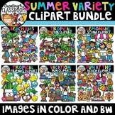 Summer Variety Clipart Growing Bundle {Summer Clipart}
