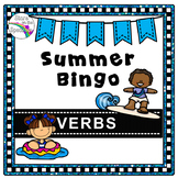 Summer Verb Bingo