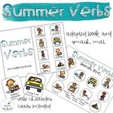 Summer Verbs Adapted Book // Speech Therapy // Grammar