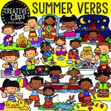 Summer Verbs: Summer Clipart {Creative Clips Clipart}