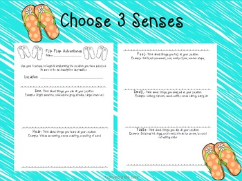 Back to School Writing Project  Summer View Point