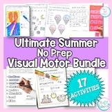 Summer Visual Motor Ultimate Bundle: NO PREP Summer Fine Motor Activities
