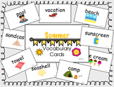 Summer Vocab Cards