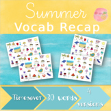 Summer Vocab Recap