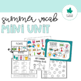 Summer Vocabulary Activities | Made for Summer School!