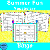 Summer Vocabulary Bingo Fun