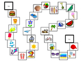 Summer Vocabulary Board Games