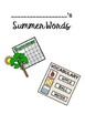 Summer Vocabulary Books