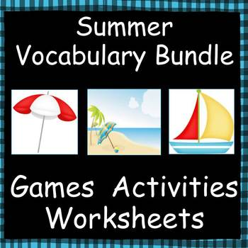 Summer Vocabulary Bundle