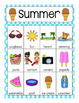 Summer Vocabulary Cards