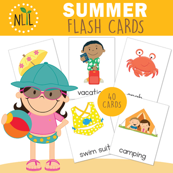 Summer Flash Cards