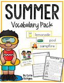 Summer Vocabulary Pack