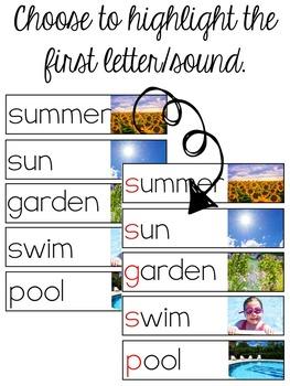 Summer Vocabulary Resources