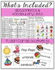 Summer Vocabulary Unit- For Special Education