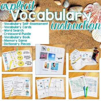 Summer Vocabulary Unit