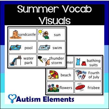 Summer Vocabulary Words