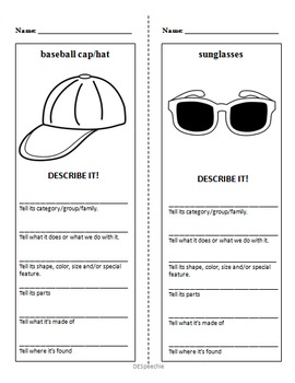 Summer Vocabulary Worksheets
