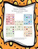 Summer Vocabulary  for Cariboo and Cariboo Island