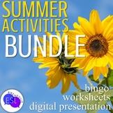 Summer Vocabulary Bundle for Adult ESL