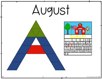 Summer Vocabulary with Pattern Blocks