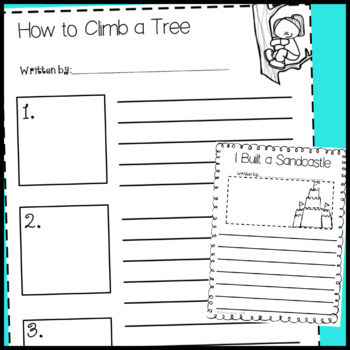 Summer Packet: Writing Prompts (June July August)