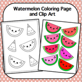 Watermelon Coloring Worksheets Teaching Resources Tpt